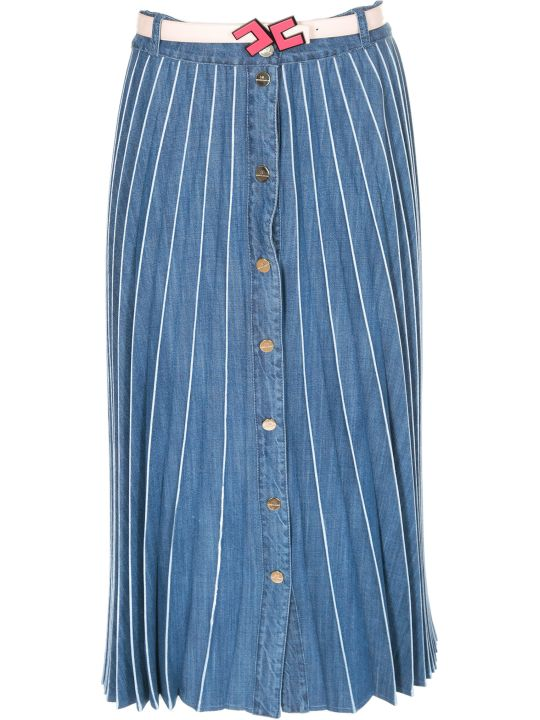 Elisabetta Franchi Celyn B. Elisabetta Franchi For Celyn B. Pleated Long Skirt