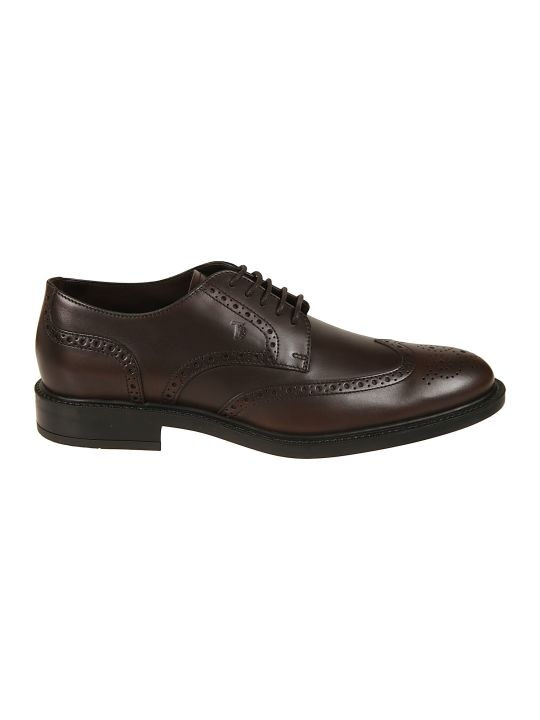 Tod's Perforated Derby Shoes