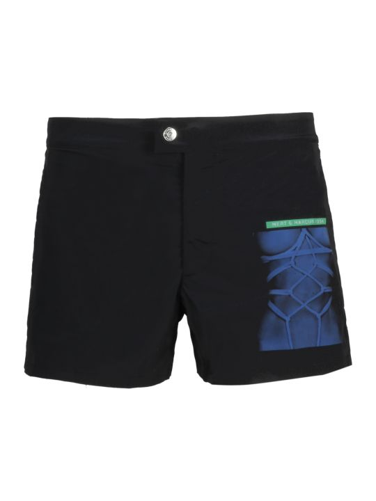 Dsquared2 Logo Print Shorts