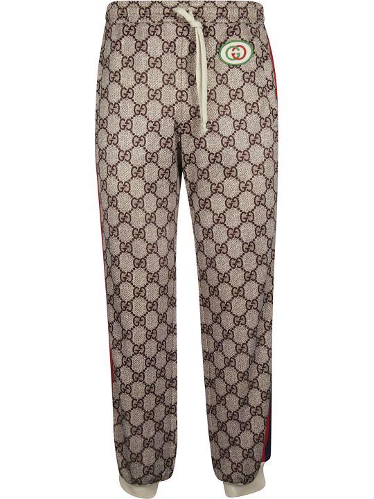 Gucci Supreme Print Track Pants