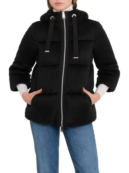 Herno Woolfur Down Jacket