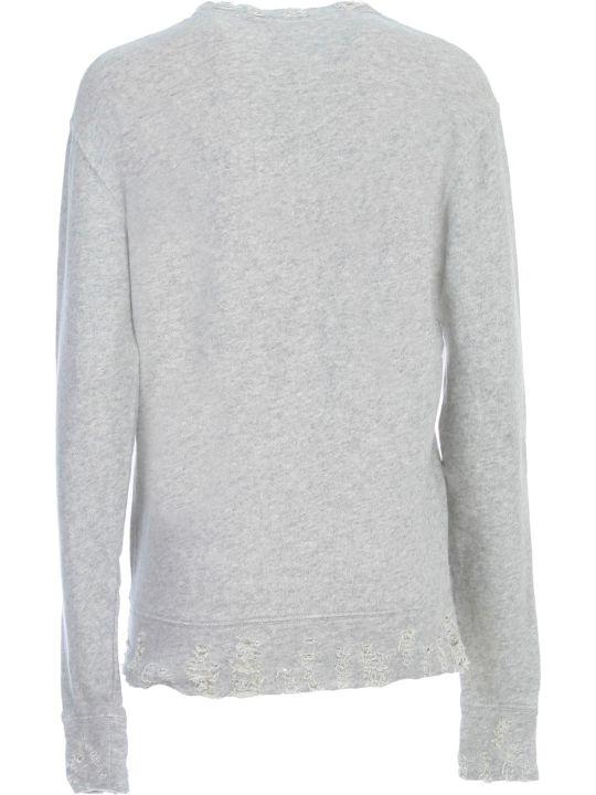 R13 Vintage Sweatshirt Crew Neck