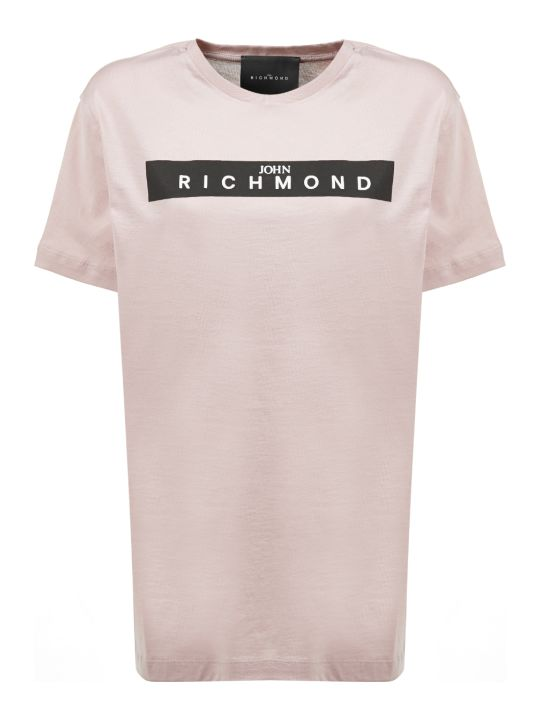 John Richmond Studded Logo T-shirt