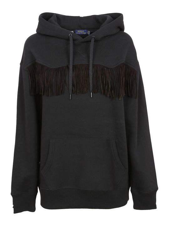 Ralph Lauren Fringe Sweater