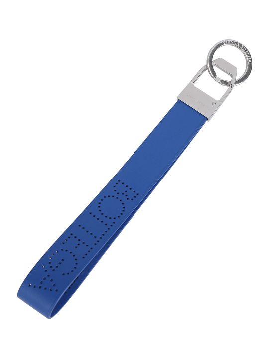 Bottega Veneta Logo Key Holder