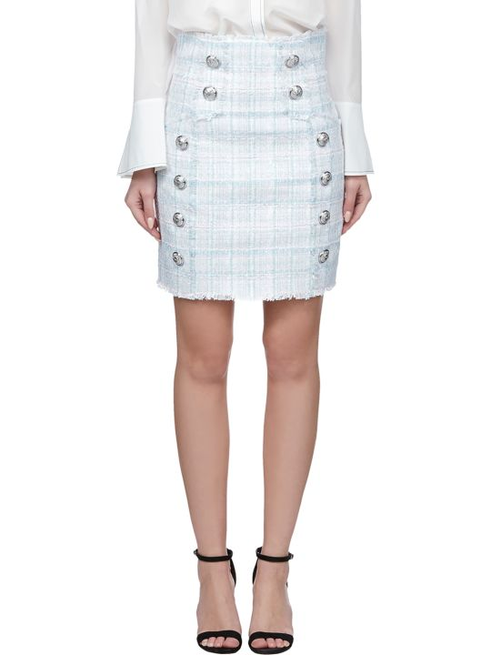 Balmain Frayed Skirt