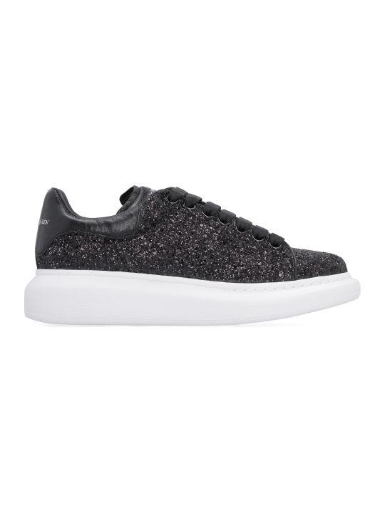 Alexander McQueen Larry Glittered Sneakers