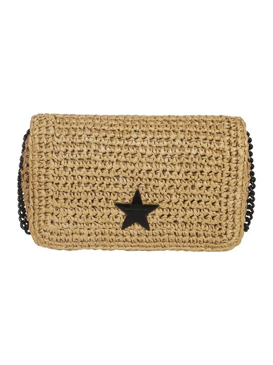 Stella McCartney Small Rafia Falabella Shoulder Bag