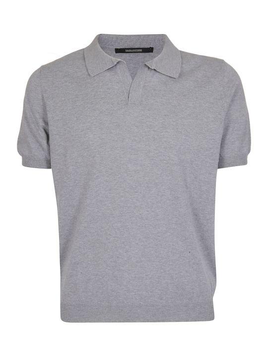 Tagliatore Open Collar Polo Shirt