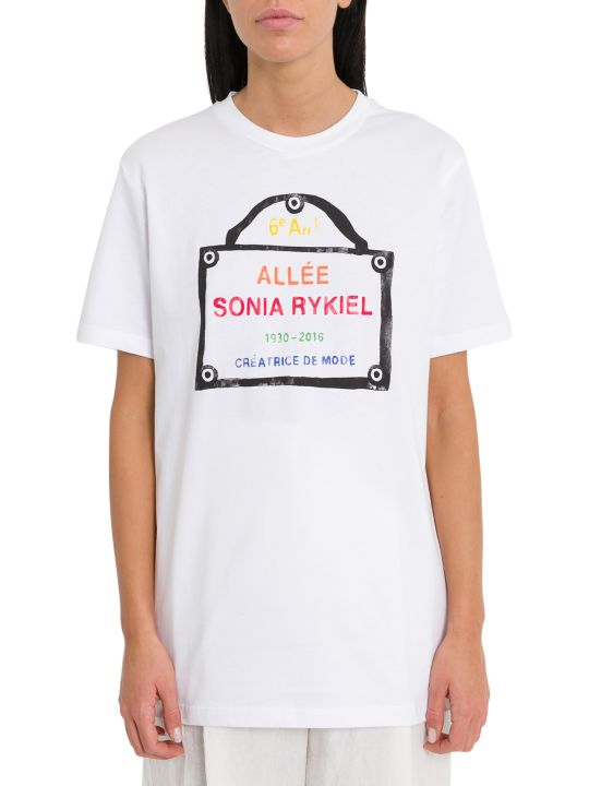 Sonia Rykiel Graphic Print Tee