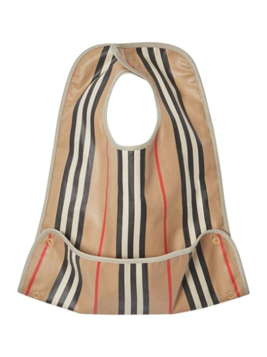 Burberry Striped Bib