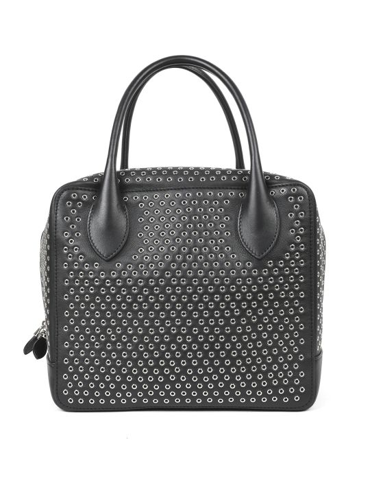 Alaia Black Oeillet Bag