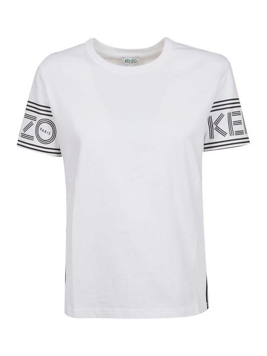 Kenzo Logo Border T-shirt