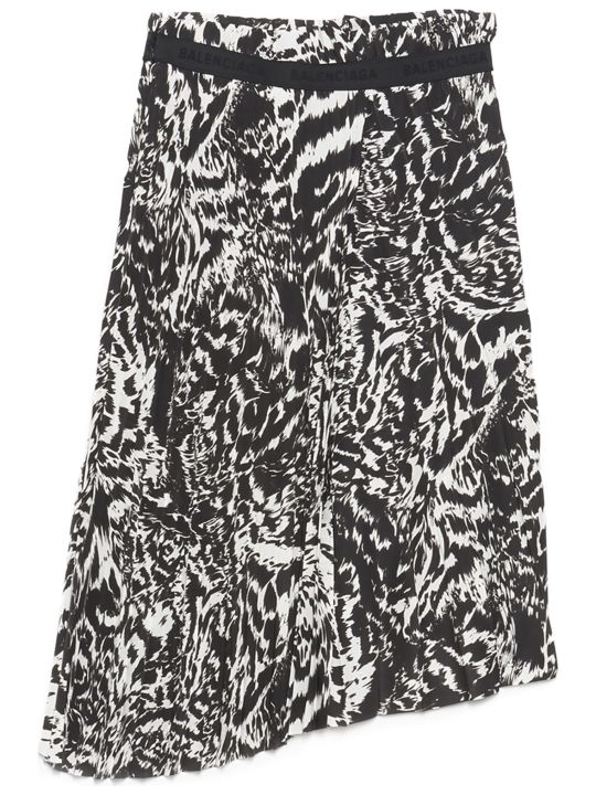 Balenciaga 'animalier' Skirt