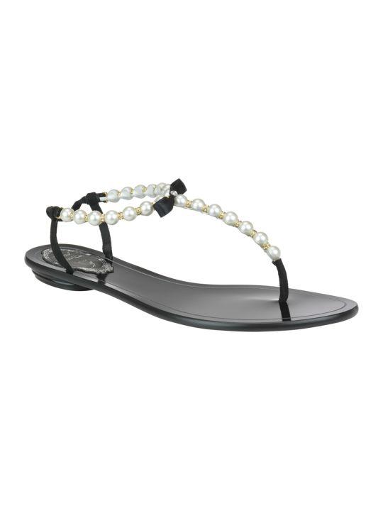 René Caovilla Eliza Flat Sandals