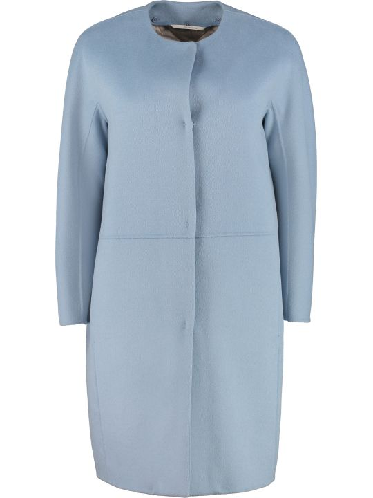Max Mara The Cube Travelo Hidden Buttons Coat