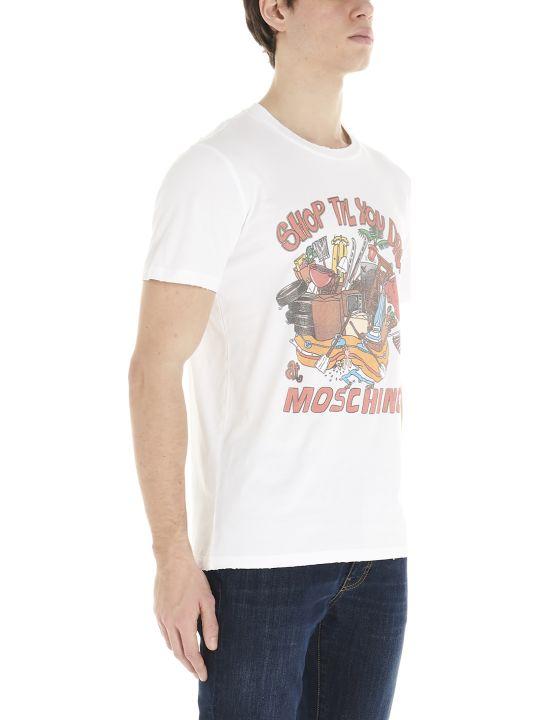 Moschino 'shop Till You Drop' T-shirt