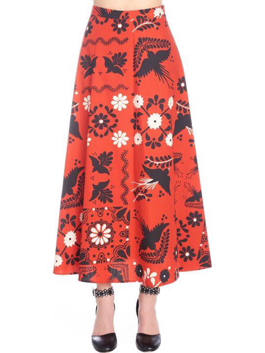RED Valentino 'terrazzo Decorato' Skirt
