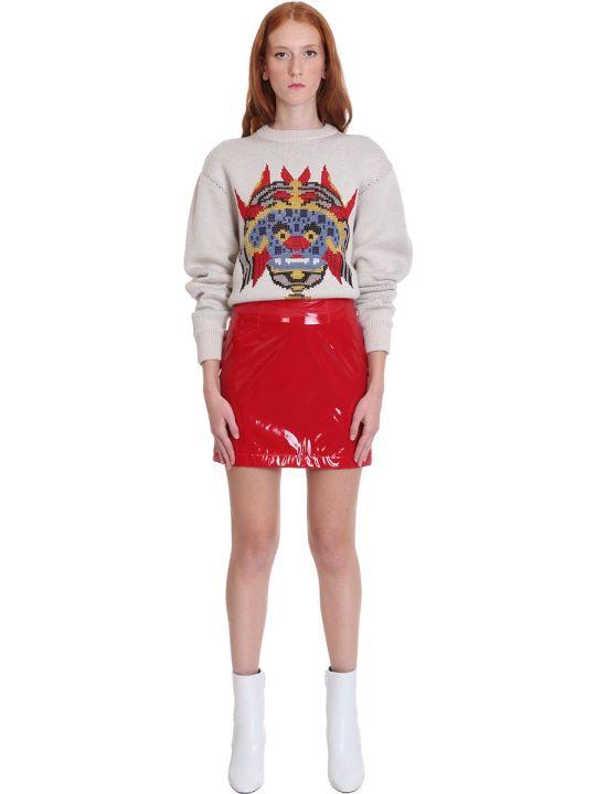 Kirin Knitwear In Beige Wool