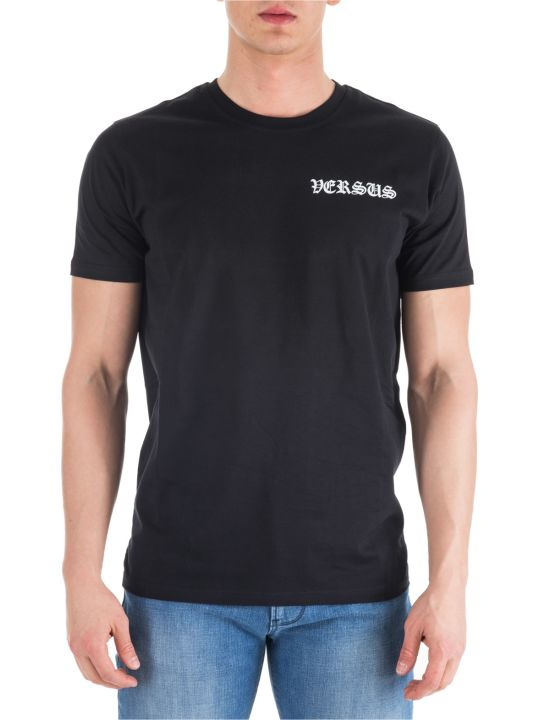 Versus Versace  Short Sleeve T-shirt Crew Neckline Jumper Regular