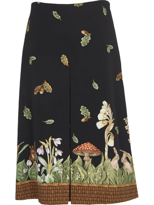 Vivetta Wood Fantasy Skirt