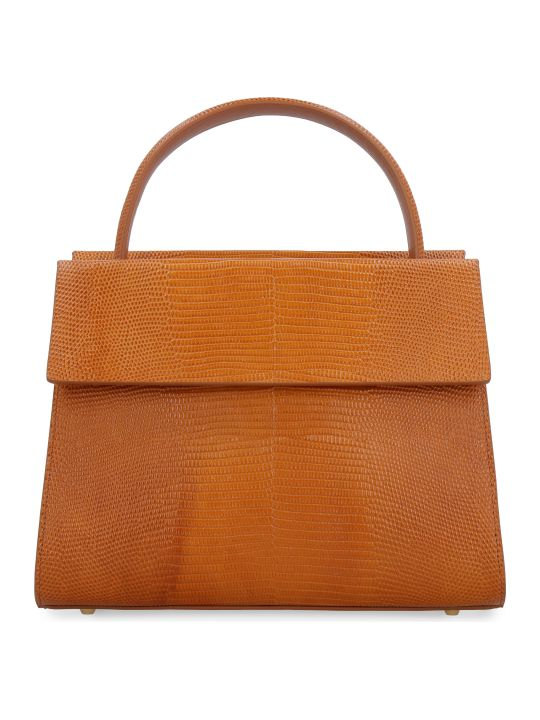 Nico Giani Eris Lizard Print Leather Handbag