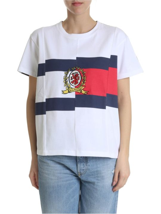 Tommy Hilfiger Contrast Spliced T-shirt