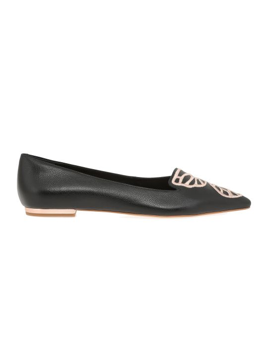 Sophia Webster Bibi Butterfly Flat Shoes