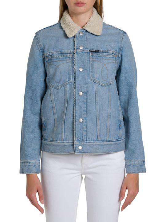 Calvin Klein Jeans Omega Sherpa Trucker Jacket