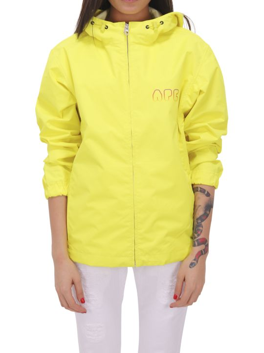 A.P.C. Yellow Drizzle Wind Breaker