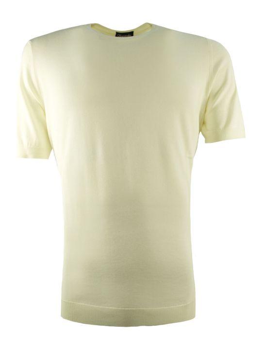 Drumohr Cream-tone Cotton Sweater