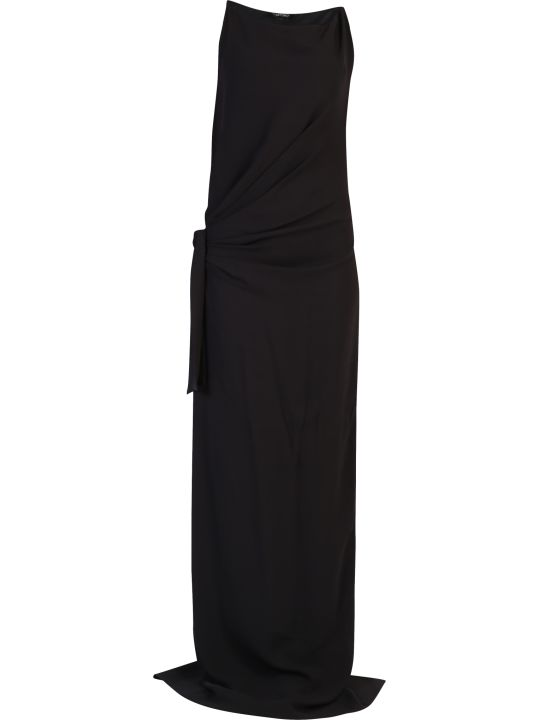 Tom Ford Side Tie Viscose Dress