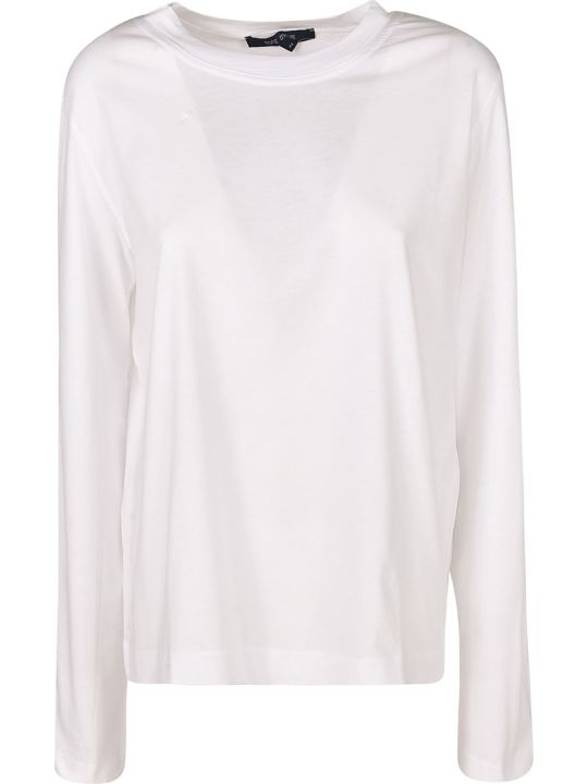 Sofie d'Hoore Long-sleeved Round Neck T-shirt