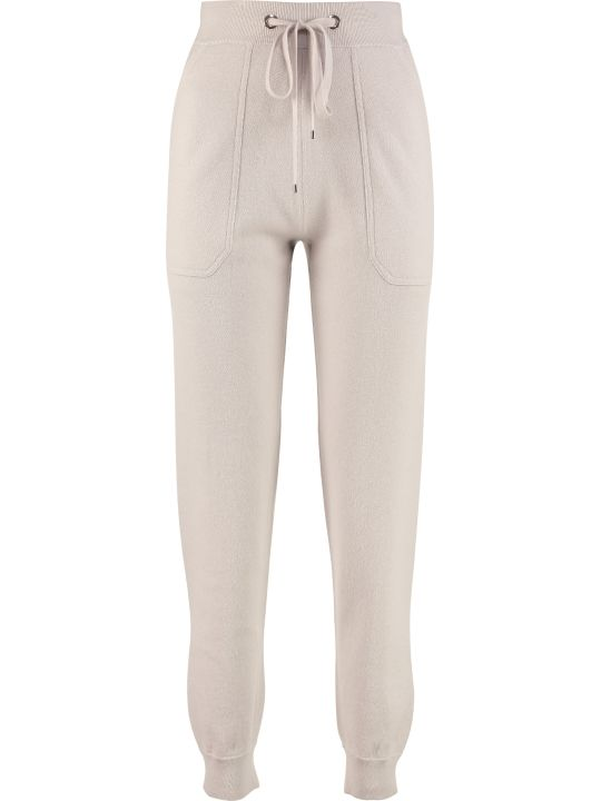 'S Max Mara Wool And Cashmere Knit Track-pants