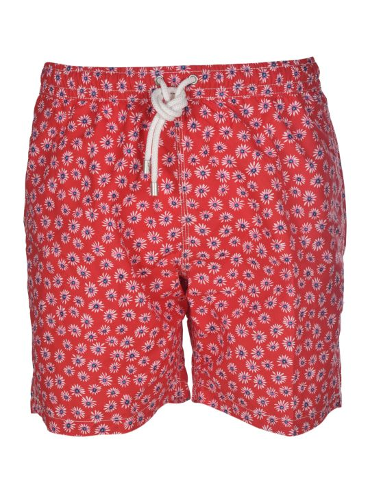 Hartford Floral Print Swim Shorts