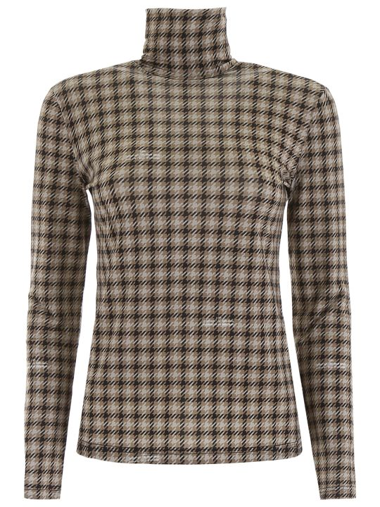 Rokh Houndstooth Turtleneck