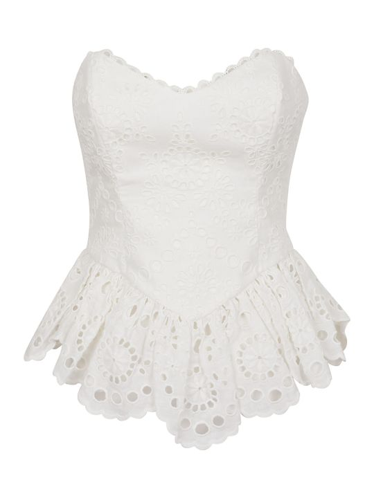 Zimmermann Bowie Strapless Top