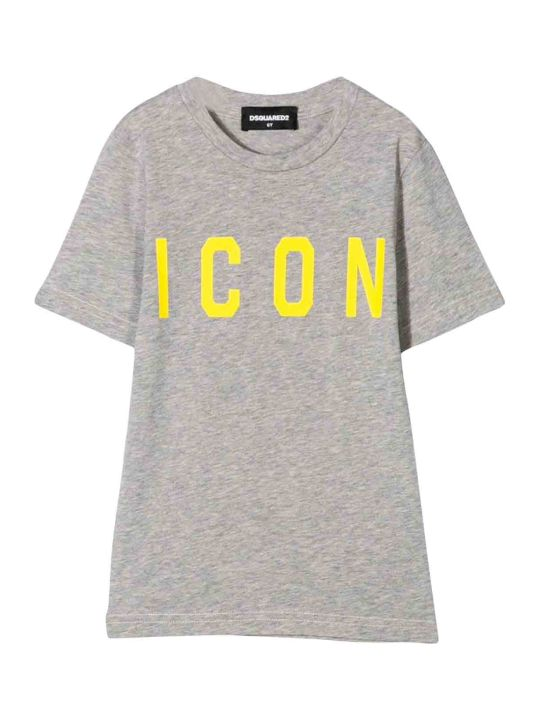 Dsquared2 Gray T-shirt Teen