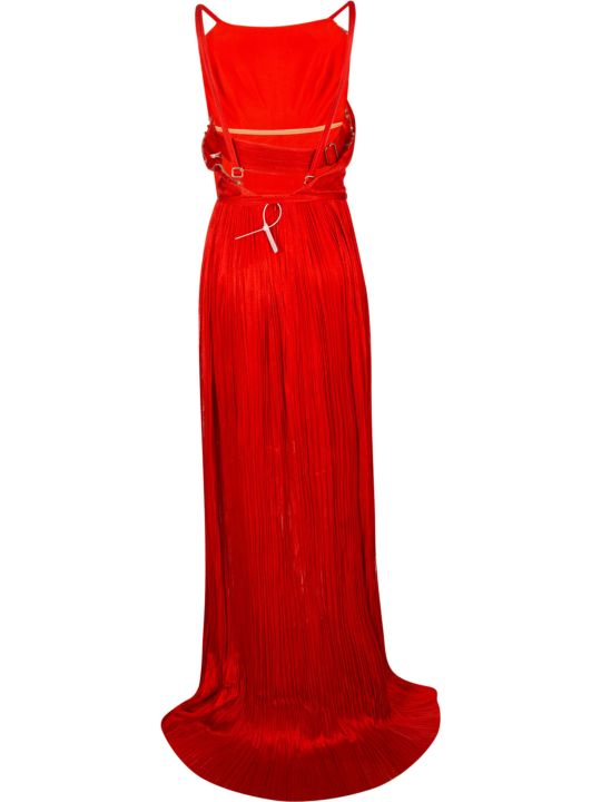 Maria Lucia Hohan Pleated Sleeveless Dress