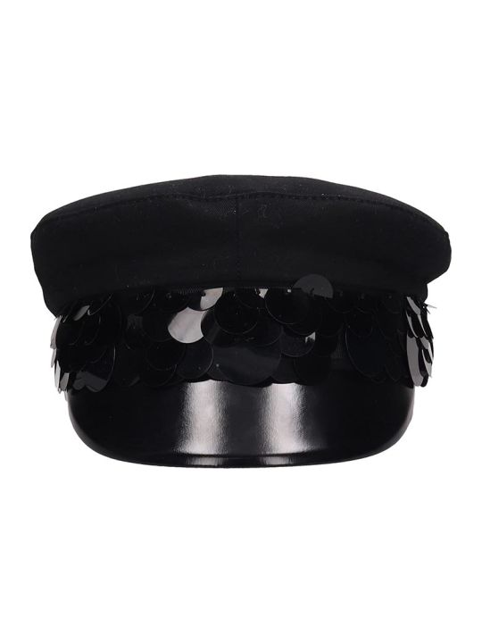 RTA Black Cotton Hat