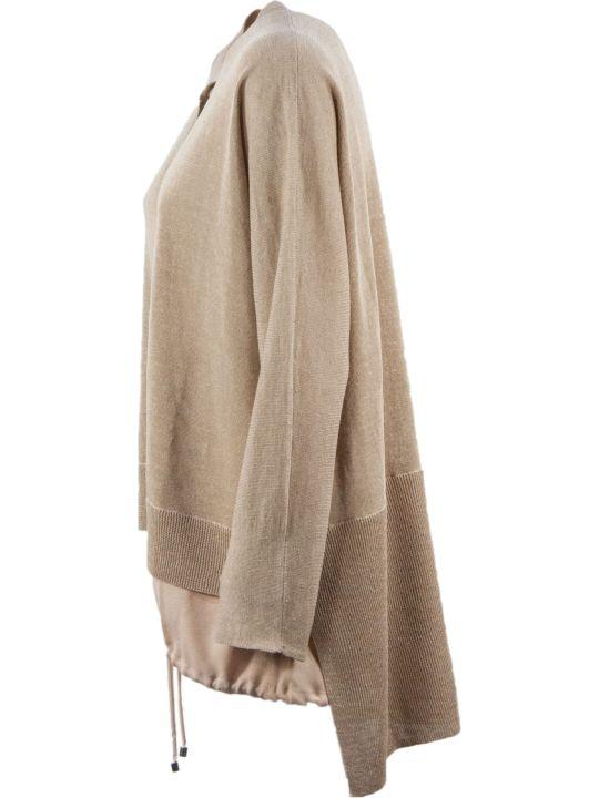 Fabiana Filippi Linen And Silk Cardigan