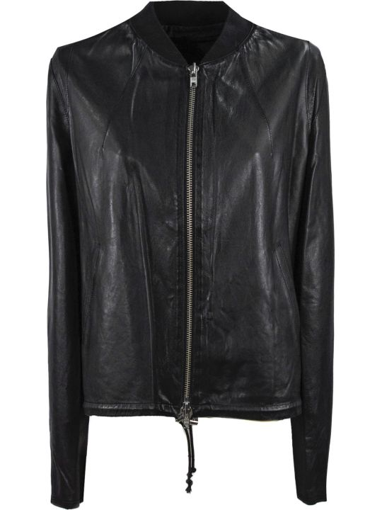 S.W.O.R.D 6.6.44 Black Leather Jacket
