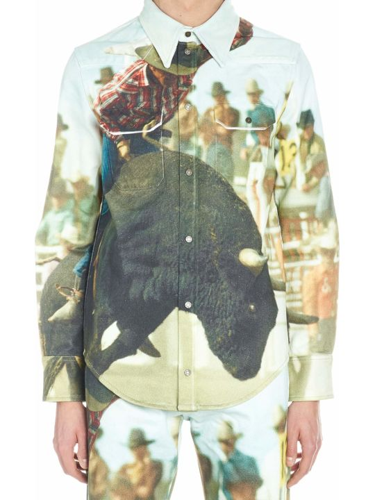 Calvin Klein 'landscape Bull' Shirt