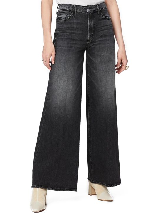 Mother Black Palazzo Jeans