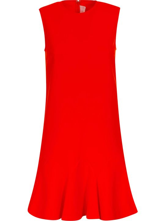 Victoria Victoria Beckham Dressed Flounce Hem Shift Dress