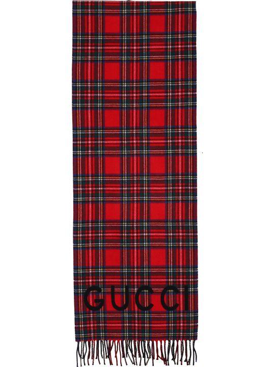 Gucci Tartan scarf