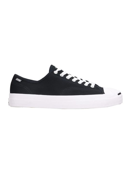 Converse Jack Purcell Pr Sneakers In Black Tech/synthetic