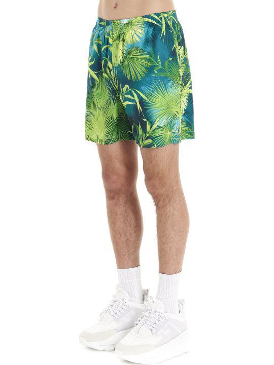 Versace 'jungle' Swimshorts