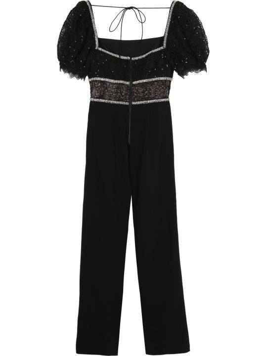 self-portrait Culotte Pants Jumpsuit