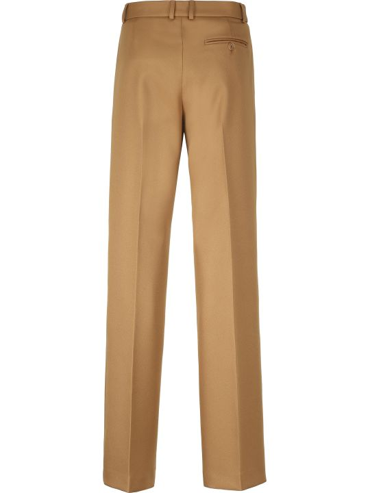 Stella McCartney Drill Wide-leg Trousers